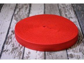 Pruženka půlená, červená 19 mm