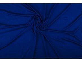 Viskóza úplet, královsky modrá 005