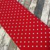 Úplet puntíky větší, červená 015
