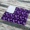 Přebalovací podložka Yháček, PUL, fialové bubliny