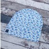 Rostoucí čepička Yháček, modré kvítky
