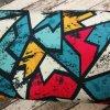 Softshell zimní, graffiti