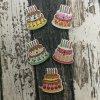 Knoflík dětský, dortík