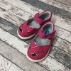 Boty Little blue lamb, Pink girls sandals