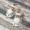 Boty Little blue lamb, Toddler white shoe