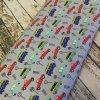 Bavlněný popelín s auty