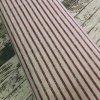 Úplet fialové pruhy na šedé melé