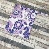 Pytel na pleny Yháček, fialové květy