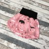 Balónová sukně Yháček, Lesní zvěř na starorůžové