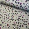 Softshell zimní, gepard khaki s růžovou
