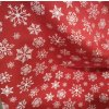 Teplákovina, Vánoční vločky na červené