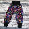 Zimní softshellové kalhotky Yháček, letní louka