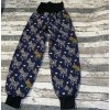 Zimní softshellové kalhoty Yháček, zebry na navy