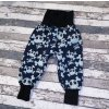 Zimní softshellové kalhoty Yháček, lebky na navy