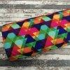 Softshell zimní, barevné trojúhelníky