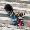Nosicí botičky - válenky Yháček, barevný maskáč