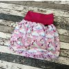 Balónová sukně Yháček, jednorožec na růžové