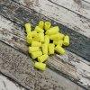 Plastová koncovka, neonově žlutá