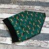 Šátek na hlavu Yháček, stavební stroje na zelené