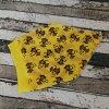 Šátek na hlavu Yháček, opičky na žluté