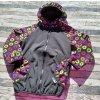 Softshellová bunda Yháček, zimní, hvězdy barevné, 122