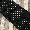 Úplet puntíky větší na černé 069
