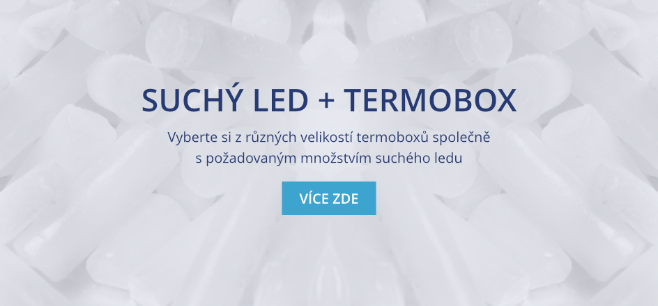 Suchý led + termobox