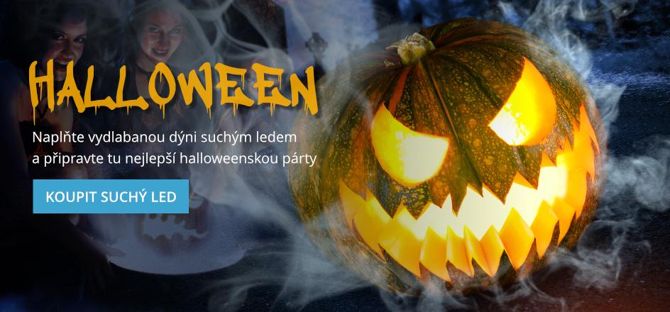 Suchý led pro halloweenskou párty