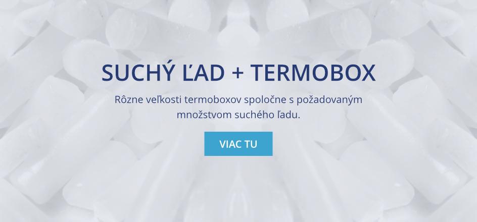 Suchý ľad + termobox