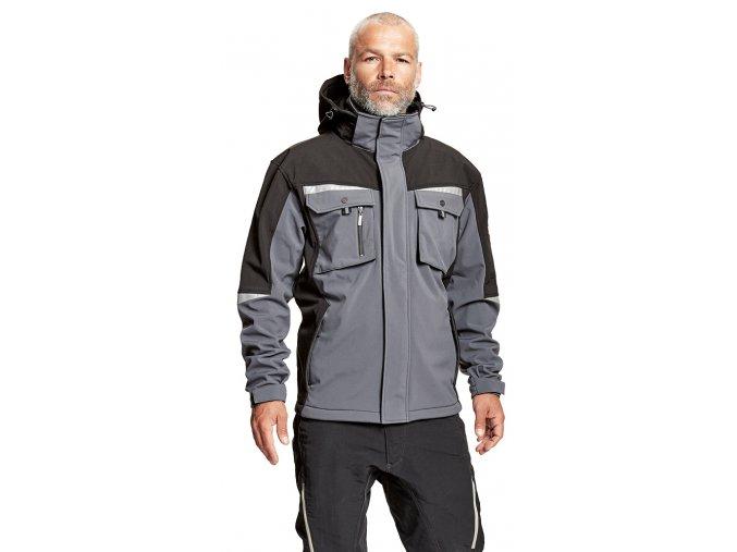 Bunda ALLYN softshell jacket with hood