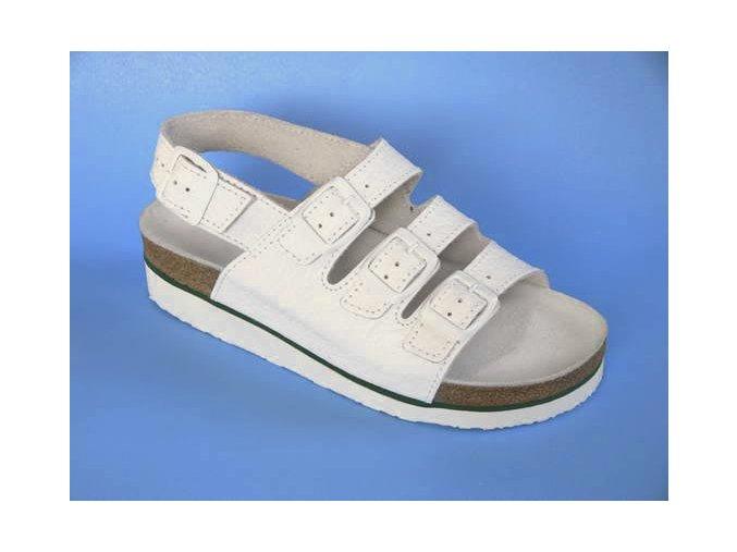 Zdravotní obuv D/1 K sandál 3 pásky