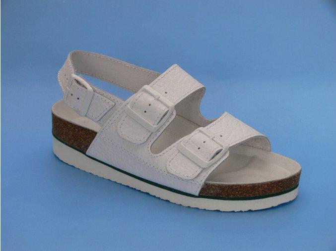 Zdravotní obuv D/3 K sandál 2 pásky