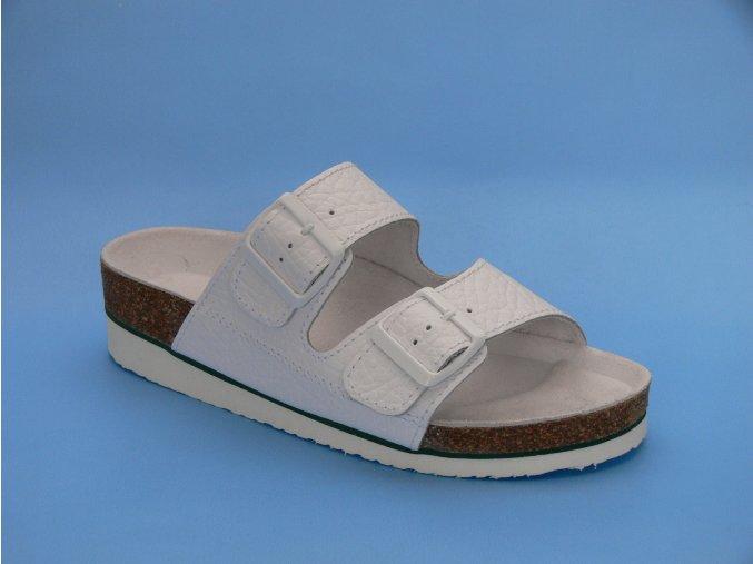 Zdravotní obuv D/2 K pantofle 2 pásky