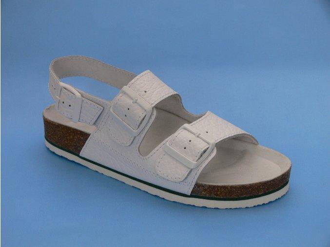 Zdravotní obuv P/3  sandál 2 pásky
