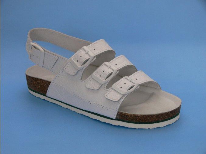 Zdravotní obuv P/1  sandál 3 pásky