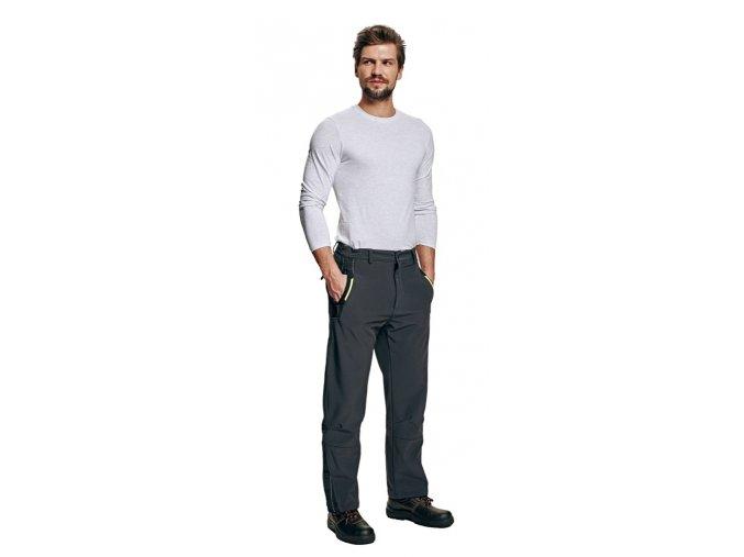 OLZA softshellové kalhoty