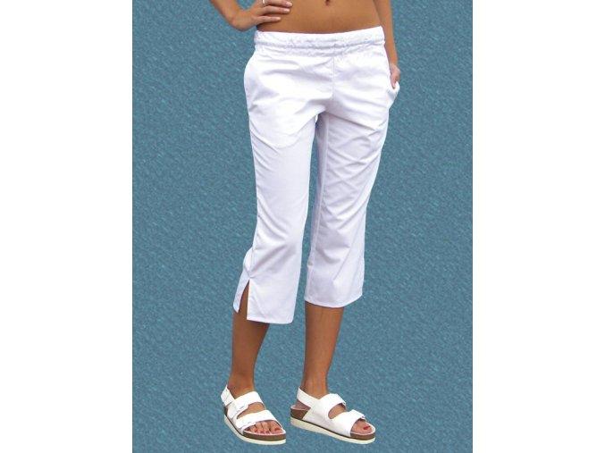Kalhoty Uni 2005 3/4 snížený pas směs