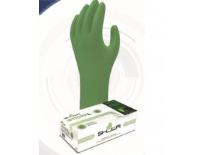 Nitrilové jednorázové rukavice biologicky odbouratelné