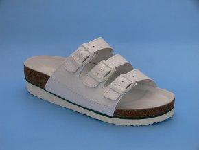 Zdravotní obuv D/4 K pantofle 3 pásky