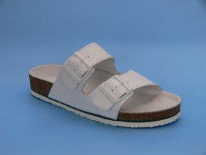 Zdravotní obuv P/2  pantofle 2 pásky