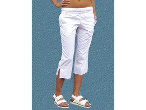 Kalhoty Uni 2005 3/4 snížený pas bavlna Lux