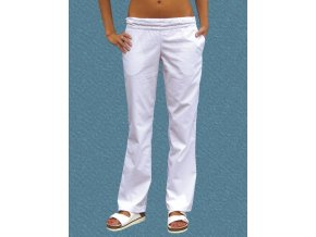 Kalhoty Uni 2005 snížený pas bavlna