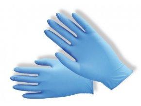 Nitrilové jednorázové rukavice nepudrované
