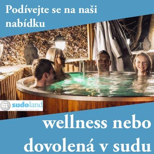Dovolená a wellness v sudu