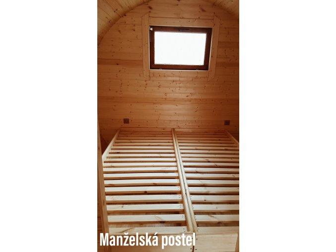 Postele bez matrace