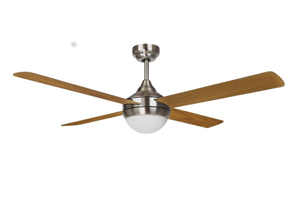 Sulion 075099 BALOO+, hnědá, stropní ventilátor s LED světlem