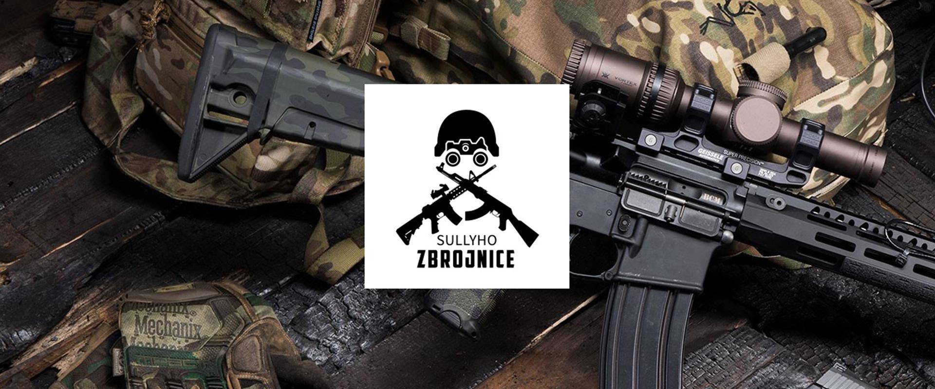 Sullyho Zbrojnice title