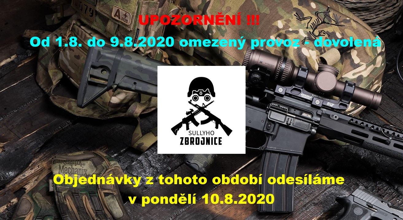 Upozornění  08-2020