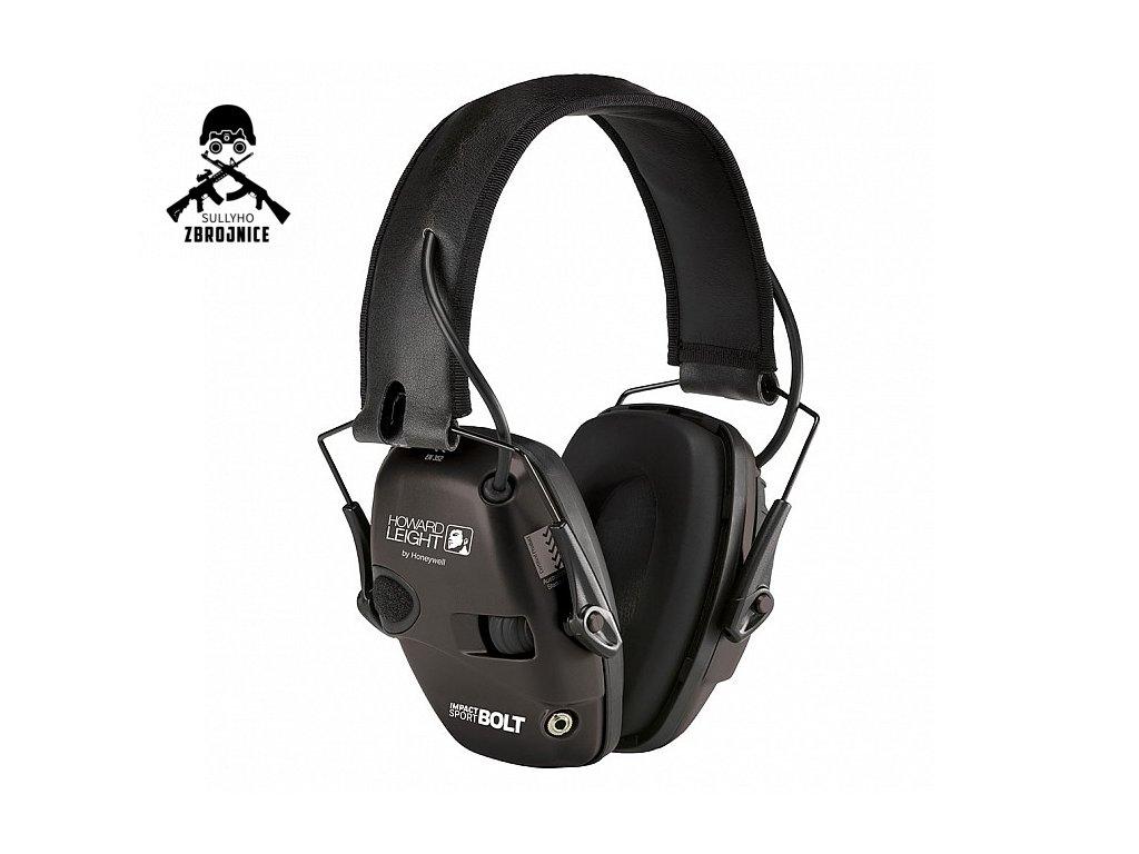 Ochranná sluchátka Honeywell Impact Sport - černé