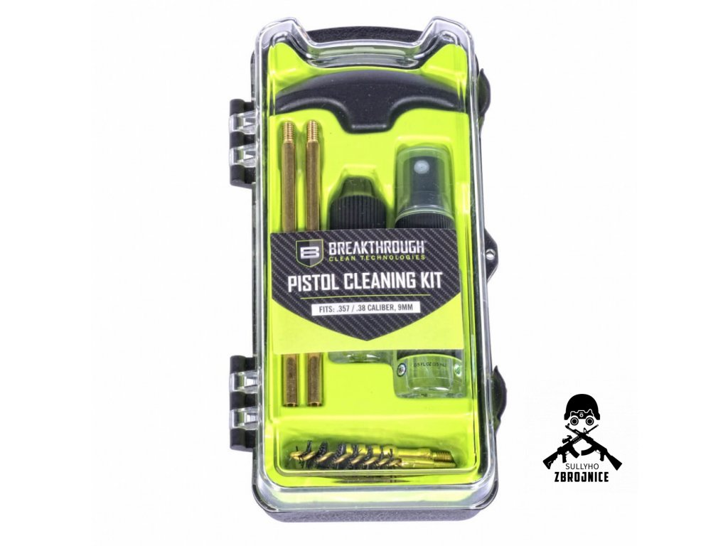breakthrough vision series pistol pistol cleaning kit 9mm